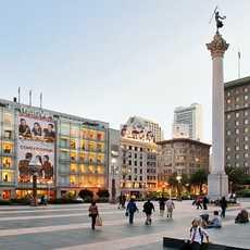 Dewey Monument auf dem Union Square