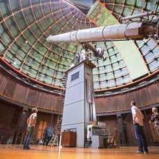 Das Lick-Observatorium San José in Kalifornien