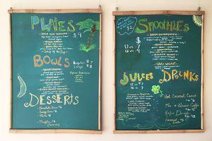 Vegane Köstlichkeiten im New Earth Superfoods - San Luis Obispo Kalifornien erleben