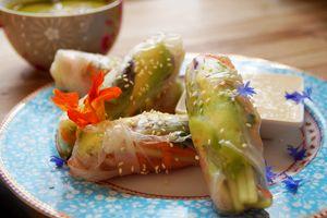Vegetarische und vegane Spa-Cuisine in Alchemy Café in Santa Barbara erleben