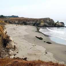 Sonoma County, Sea Ranch mit Zugang zur Küste
