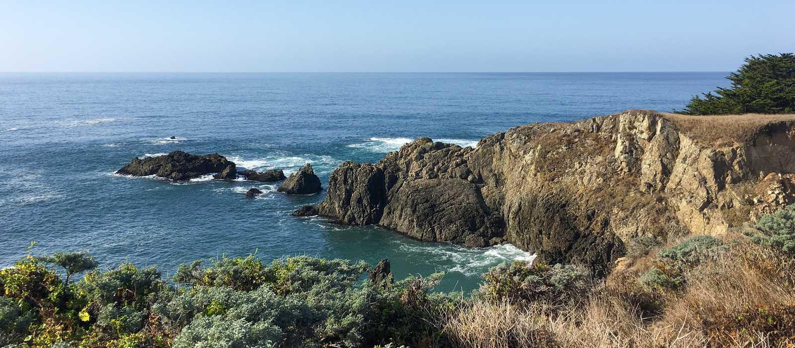 Die Küste von Sonoma