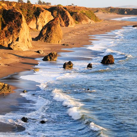 Felsenküste von Sonoma County