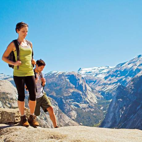 Wandern im Yosemite National Park