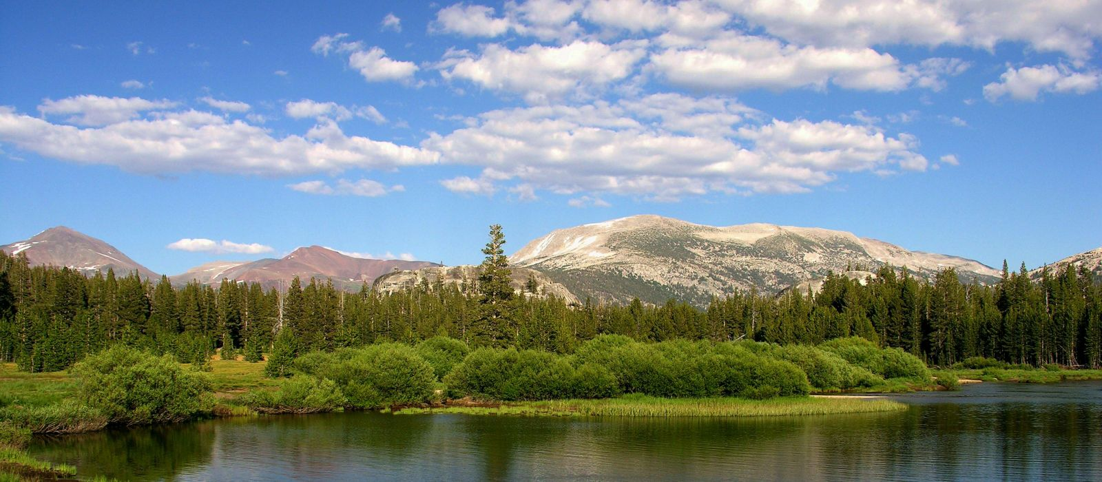 Tuolumne Meadows im Yosemite Nationalpark