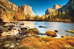 Schöne Herbststimmung im Yosemite National Park