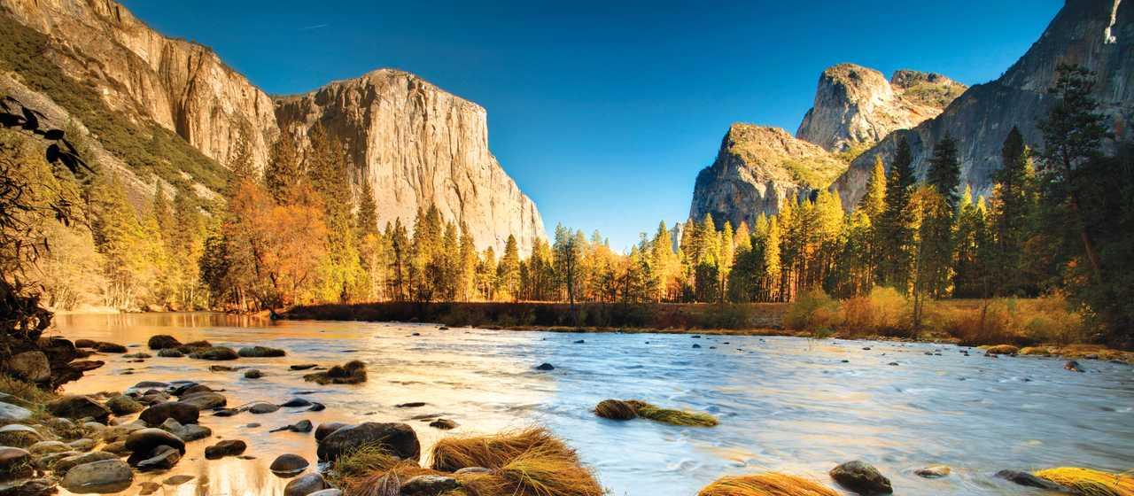 Yosemite Valley im Herbst
