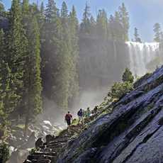 Wandern im Yosemite-Nationalpark