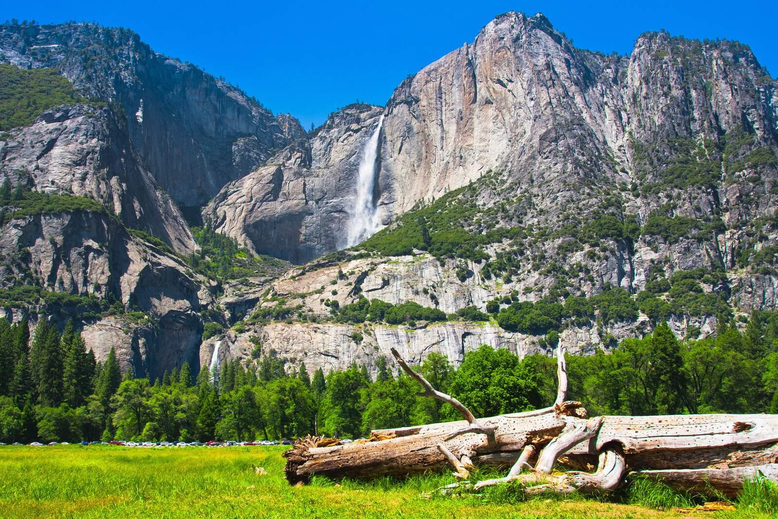 Yosemite Falls im Yosemite National Park, Kalifornien