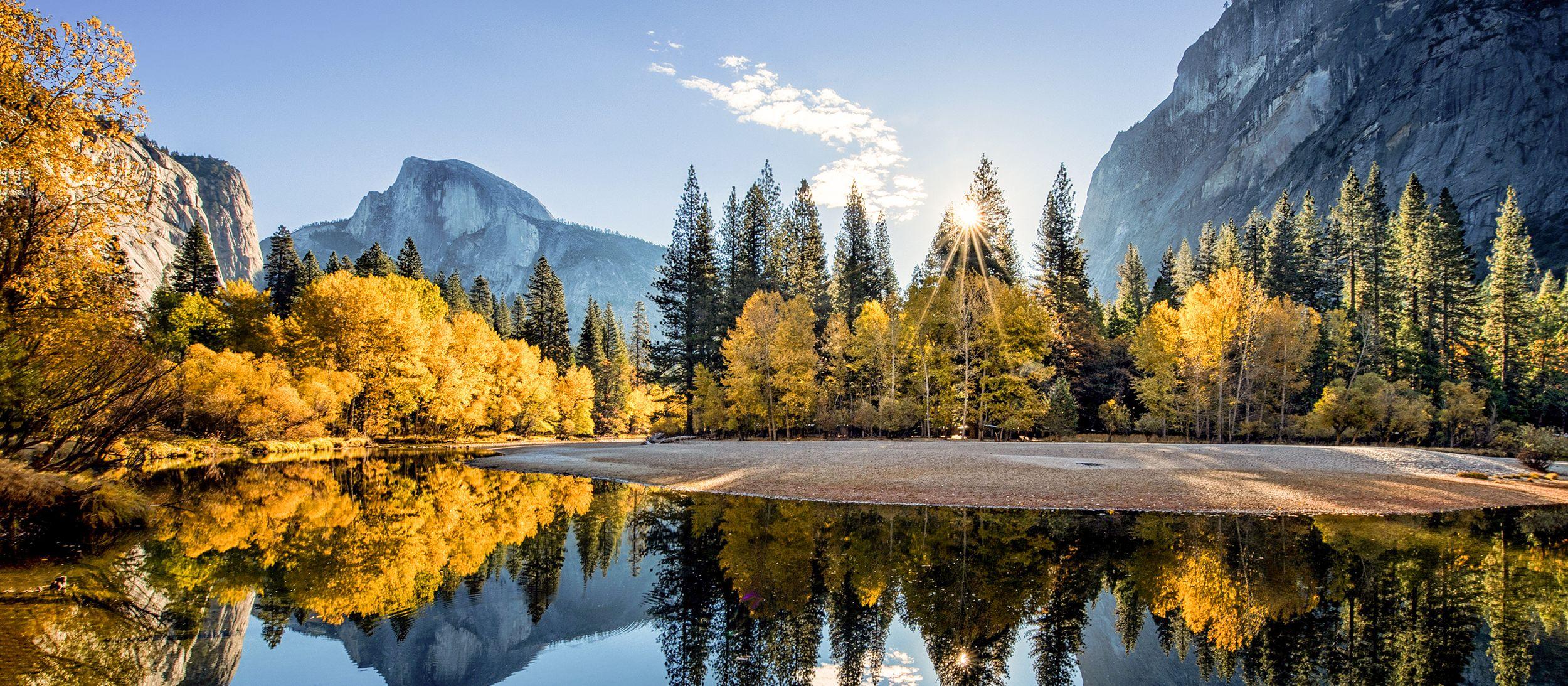 Landschaftseindruck aus dem Yosemite Nationalpark