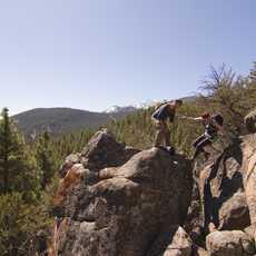 Bergsteigen in Nevada