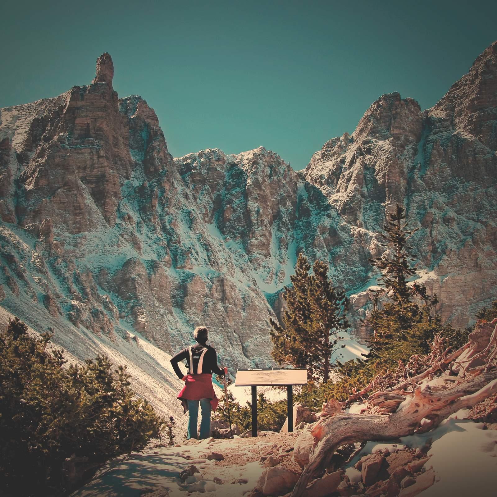 Aussicht auf die Berge im Great Basin National Park