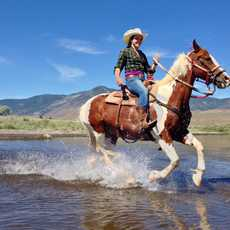 Pferdereiten in Carson City