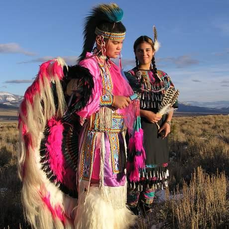 Indianer in Nevada