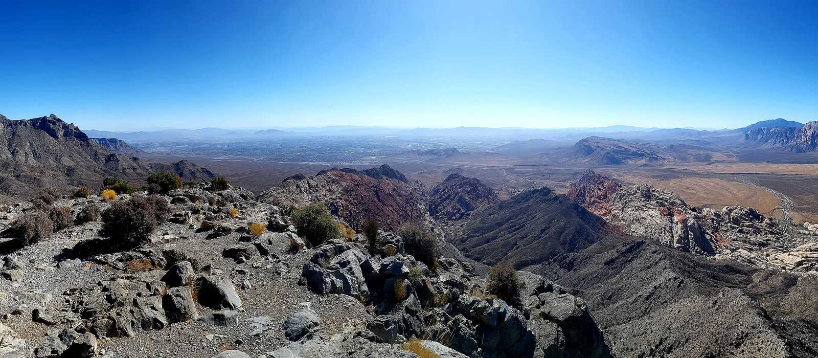 Blick vom Turtlehead Peak