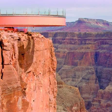 Der Skywalk am Grand Canyon