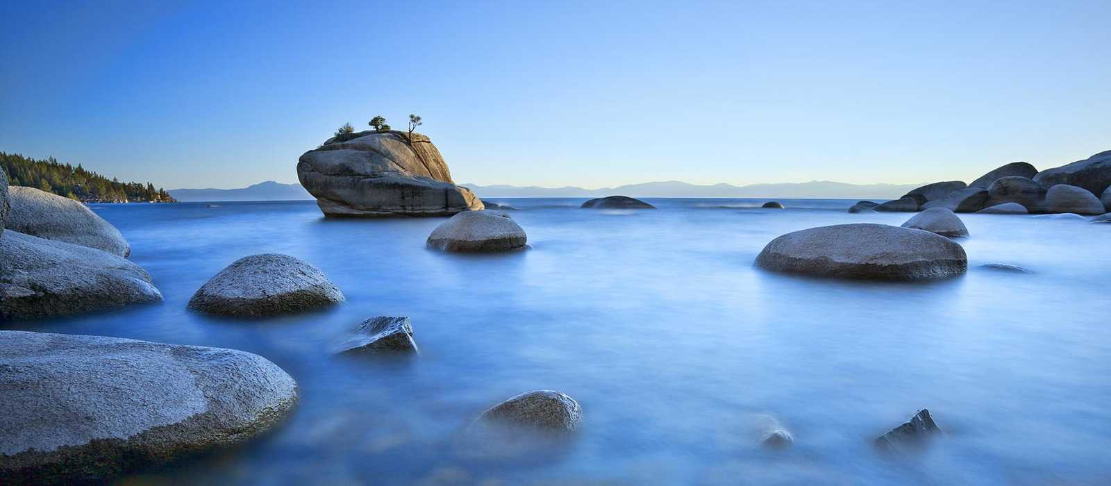 Bonzai Rock - Lake Tahoe