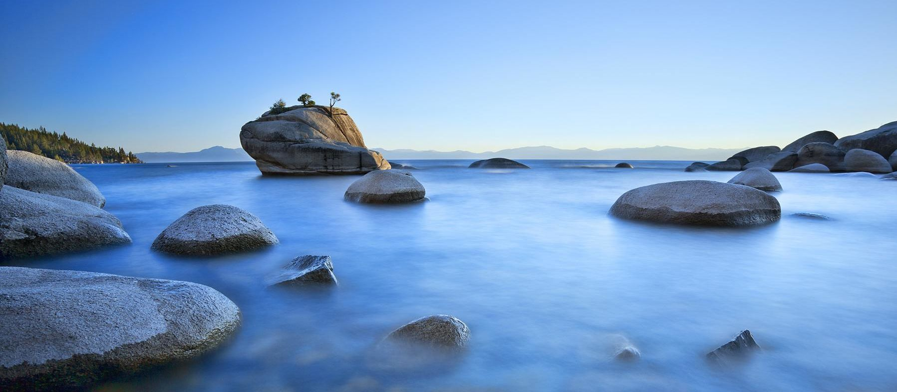 Bonzai Rock - Lake Tahoe