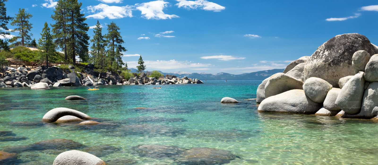 der Lake Tahoe in Nevada