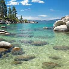 der Lake Tahoe in Nevada