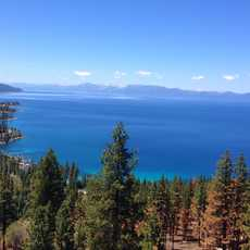 Lake Tahoe von oben