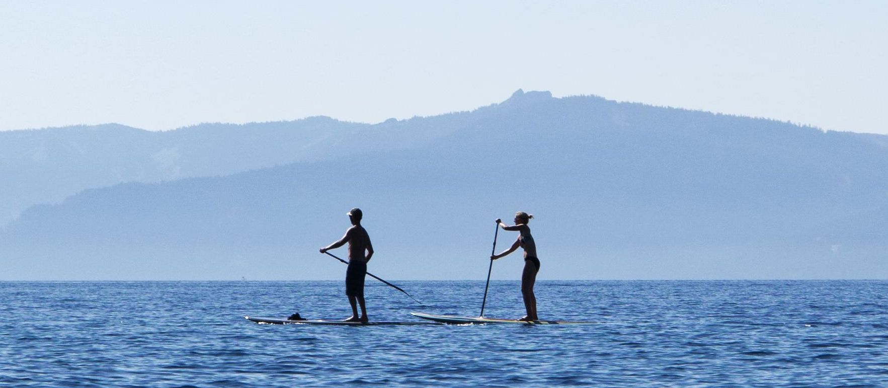 Paddle Board on Lake Tahoe