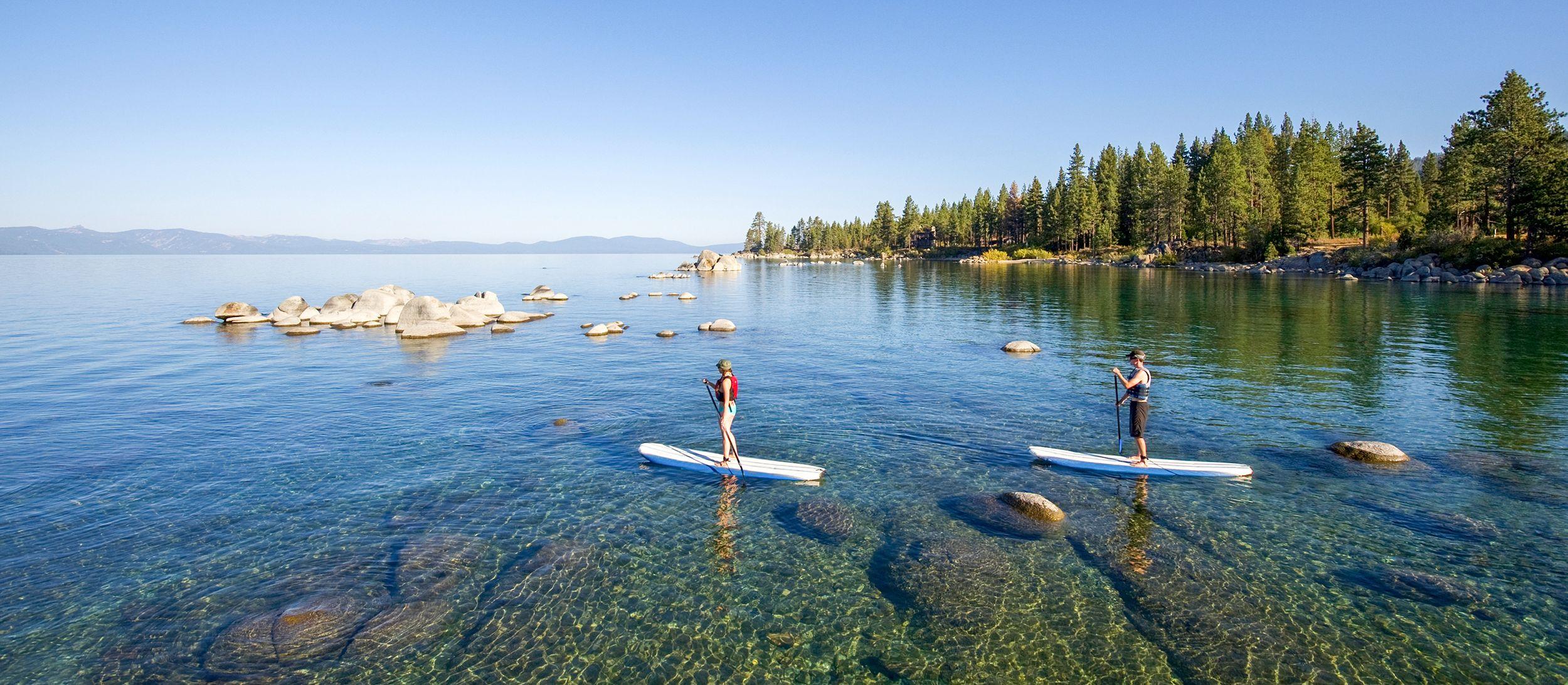 Die Zephyr Cove am Lake Tahoe in den USA