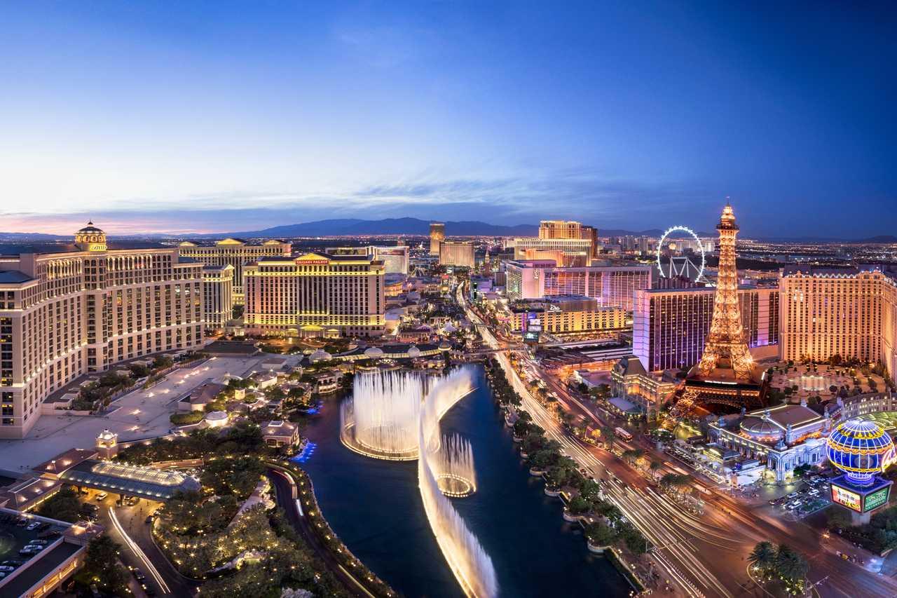Las Vegas bei Nacht, Nevada