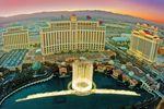 Das berühmte Bellagio Hotel in Las Vegas