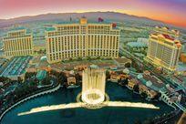 Wasserspiele am Bellagio Hotel in Las Vegas