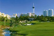 Golfspielen auf dem Golfplatz in Ihrem Las Vegas Urlaub