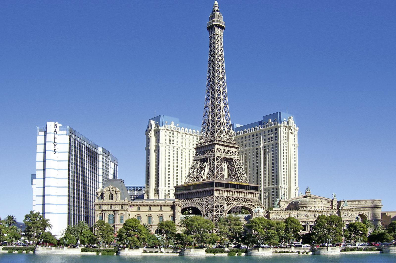 Las vegas urlaub auf dem gr ten spielplatz der welt for Hotel paris x