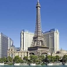 Hotel Paris mit Eiffeltum in Las Vegas