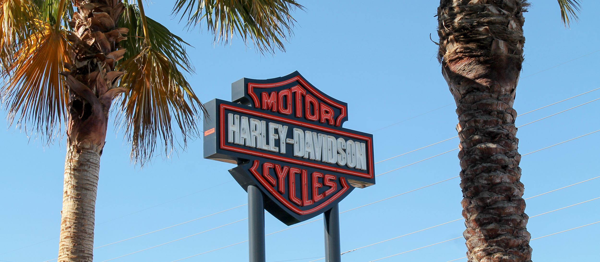 Harley Davidson Logo in Las Vegas