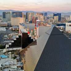 Blick ueber den Las Vegas Strip
