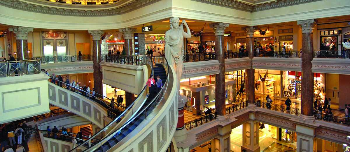 The Forum Shops at Caesers in Las Vegas, Nevada