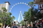 The LinQ Wheel in Las Vegas