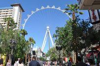 """Das Riesenrad """"The LinQ"""" in Las Vegas"""