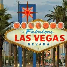 Welcome to Las Vegas sign on the Las Vegas Strip