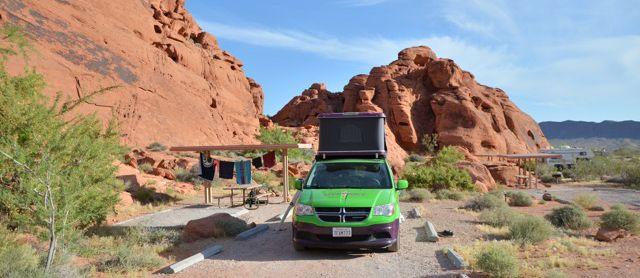 Stellplatz Arch Rock Campground
