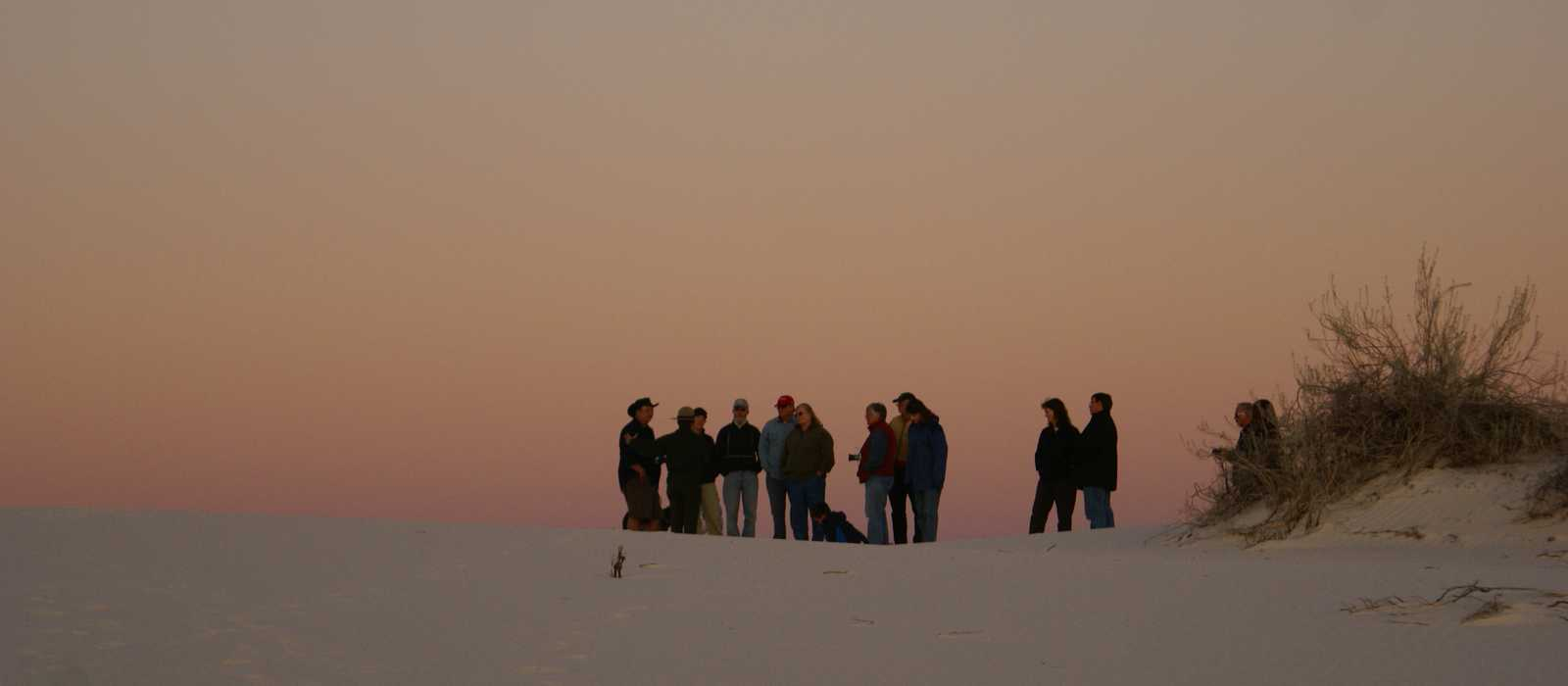 Sunset Tour in White Sands