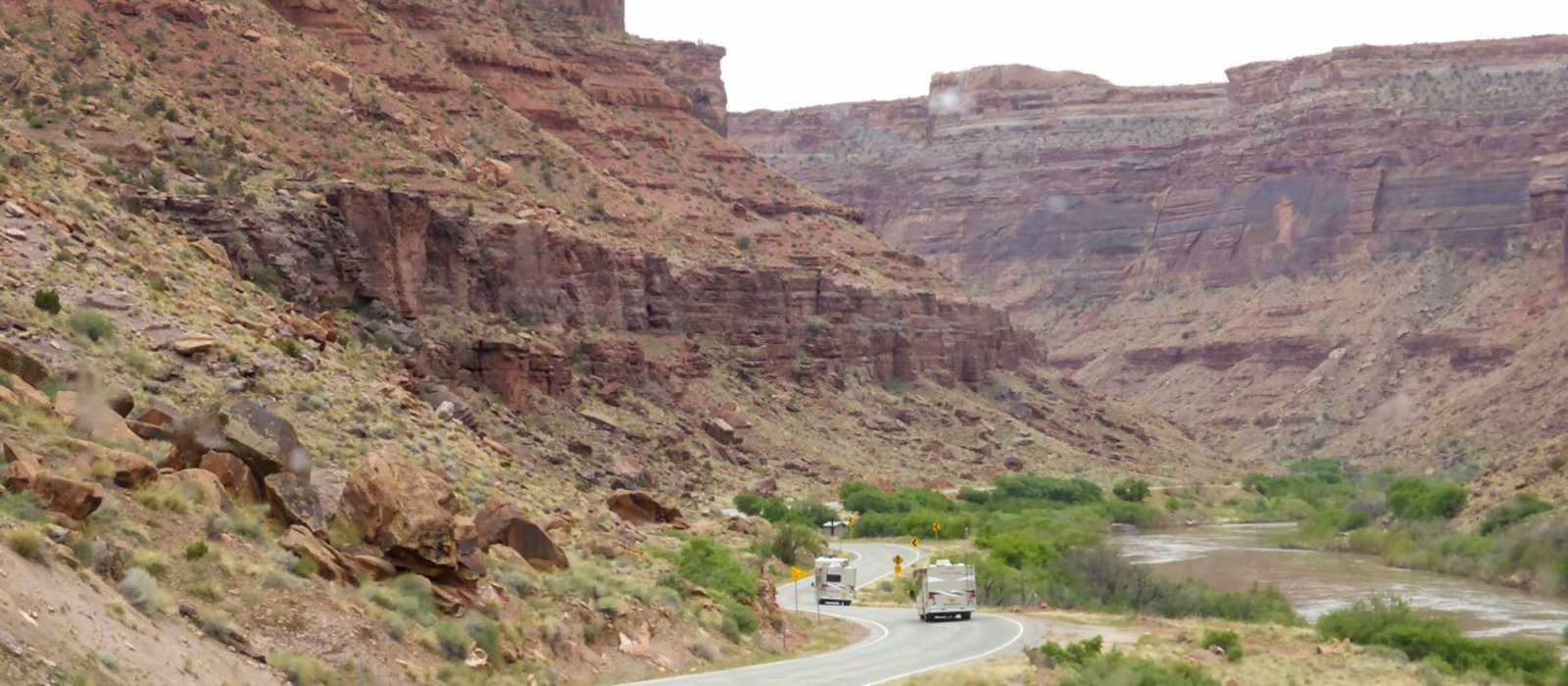 Der Scenic Highway 128