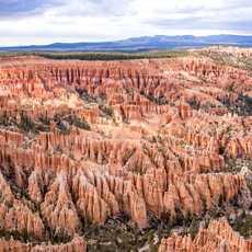Aussicht auf den Bryce Canyon National Park in Utah