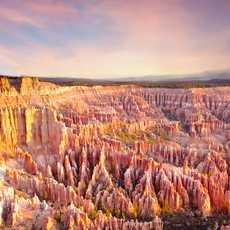 Ausblick auf den Bryce Canyon Nationalpark in Utah