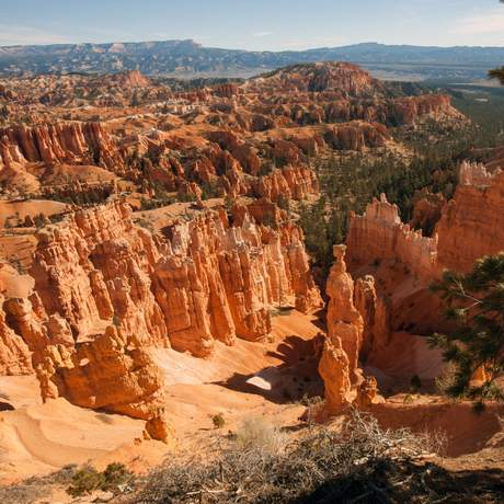 Thors Hammer and the Amphitheater, Bryce Canyon National Park