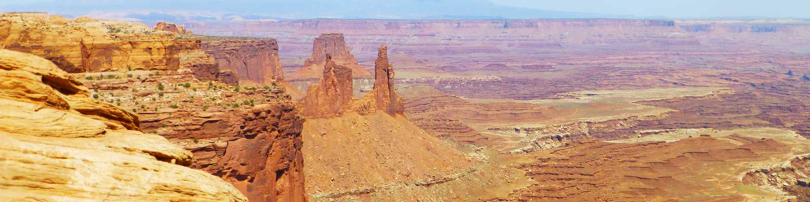 Aussicht im Canyonland National Park