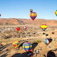 "Das ""Balloons and Tunes 2018"" in Kanab"