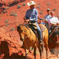 Ausritt durch die Red Cliff Areale, Moab