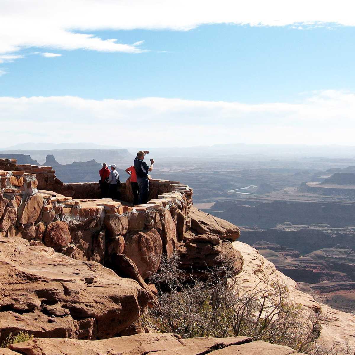 Aussichtspunkt am Dead Horse Point, Moab