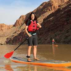 Stand Up Paddleboarding, Moab, Utah